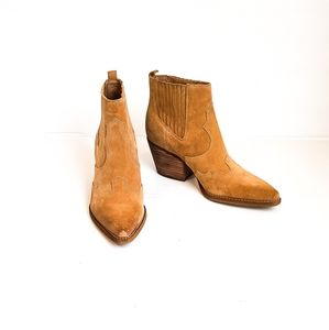 SAM EDELMAN Winona WESTERN Ankle Bootie
